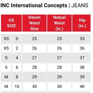 Inc international concepts Macy's jeans